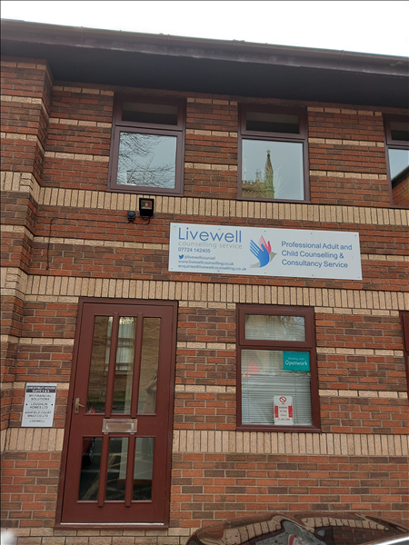 The offices of Livewell Counselling Services